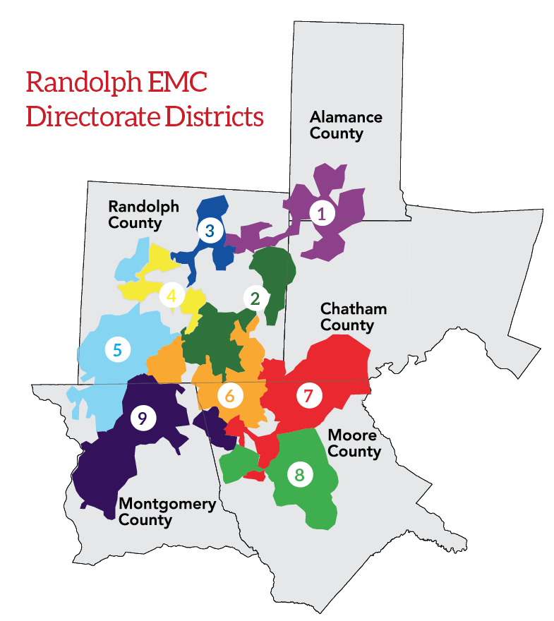 REMC directorate districts